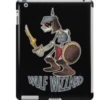 Wulf Wizzard Dark Skeleton Knight iPad Case/Skin