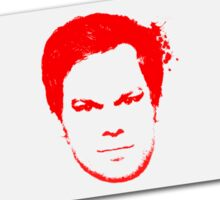 Dexter Blood Slide Sticker