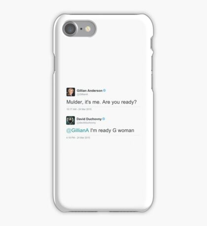 I'm Ready G Woman iPhone Case/Skin