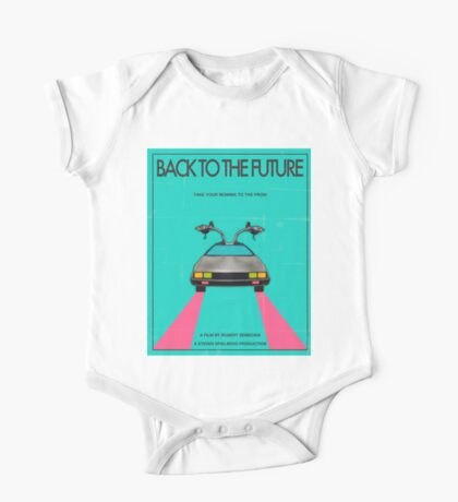 Back To The Future Blue One Piece - Short Sleeve
