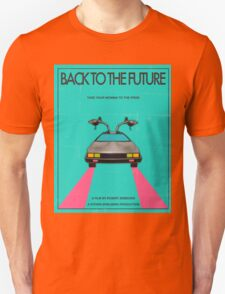 Back To The Future Blue Unisex T-Shirt
