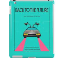 Back To The Future Blue iPad Case/Skin