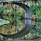 Hebden Bridge Reflections by inkedsandra
