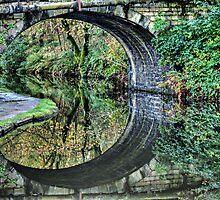 Hebden Bridge Reflections by inkedsandra