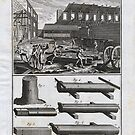 Diderot: 18th Century Engraving - The Carpenter & Sawyer by toolemera