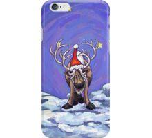 Reindeer Christmas iPhone Case/Skin