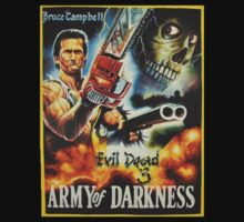 Evil Dead 3: Army of Darkness by GarfunkelArt