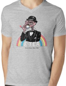 E.Tea Mens V-Neck T-Shirt
