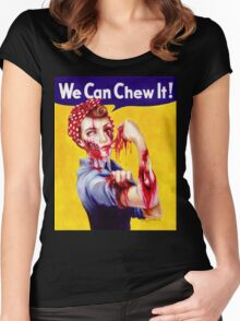 We Can Chew It! Women's Fitted Scoop T-Shirt