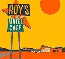 ROYS CAFE by JazzberryBlue
