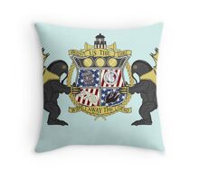 Crest of Columbia Throw Pillow