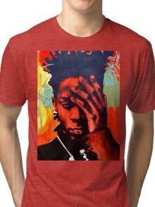 Basquiat  Tri-blend T-Shirt