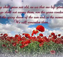 We will remember them... by ©The Creative  Minds