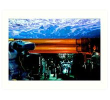 Atlantic Pipeline Art Print