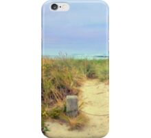 Path to Beach iPhone Case/Skin