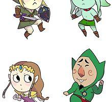Legend of Zelda by Sokapaja