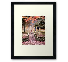 Renfrew Ravine - The Friendly Ravine Framed Print