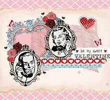 Vintage Valentine's Day  by RumourHasIt