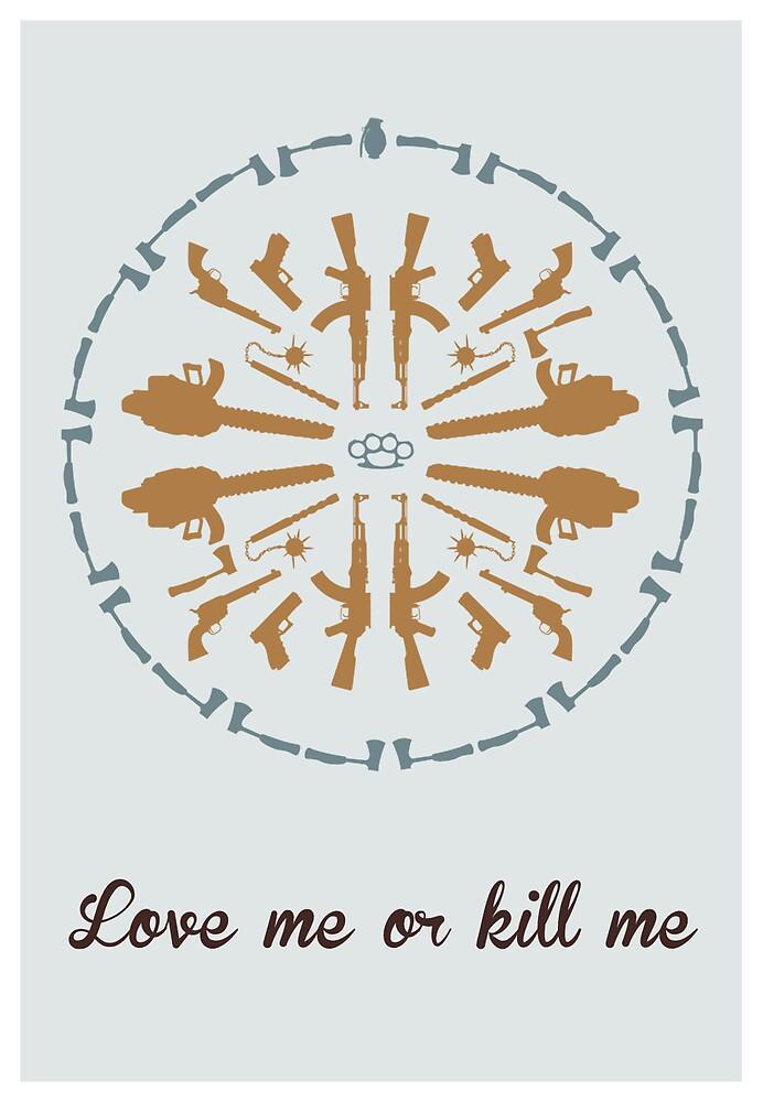 Mandala psycho killer brown by ugokisai