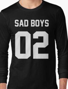 Yung Lean Sad Boys 02 - (white text) Long Sleeve T-Shirt