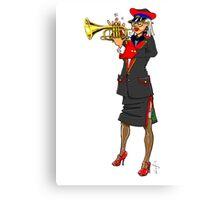 Brass Band - Trumpet Player Canvas Print