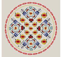 Mandala beep geek II by ugokisai
