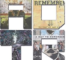 A Day To Remember Collage Sticker by jakemurray21