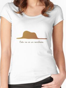 Esto no es un sombrero Women's Fitted Scoop T-Shirt