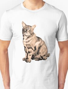 Salt Water Tabby Graphic ~ Vintage  Unisex T-Shirt