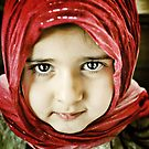 the red scarf by Angel Warda