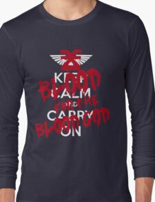 Khorne Graffiti Long Sleeve T-Shirt