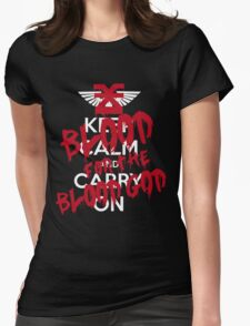 Khorne Graffiti Womens Fitted T-Shirt