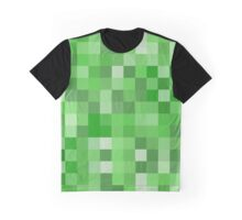 Creeper Pattern Graphic T-Shirt