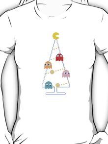 Arcade Retro Christmas Tree of Old Skool Gaming T-Shirt
