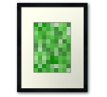 Creeper Pattern Framed Print