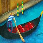 Venetian Gondolier by Allegretto