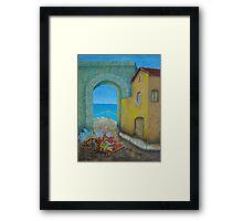 Pietrasanta In Tuscany Framed Print