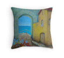 Pietrasanta In Tuscany Throw Pillow