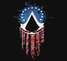 Assassin's Creed American Flag by Ecarg