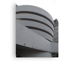 Guggenheim Museum, Frank Lloyd Wright Architect, New York City Canvas Print