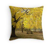 Twin Lakes Maple Throw Pillow