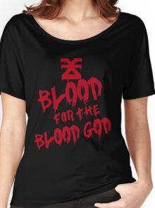 Khorne Graffiti Plain Women's Relaxed Fit T-Shirt
