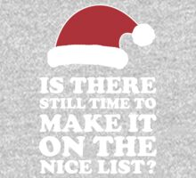 Is There Still Time To Make It On The Nice List by Look Human