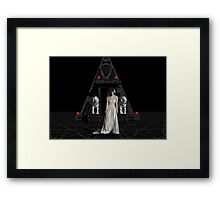 Dark Dreams 4-Hell's Zombie Bride Framed Print