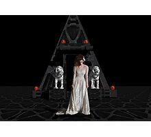 Dark Dreams 4-Hell's Zombie Bride Photographic Print