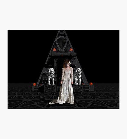 Dark Dreams 4-Hell's Zombie Bride Photographic Print