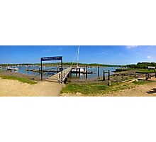 Bucklers Hard Panorama Photographic Print