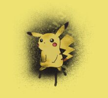 Spray Paint Pika by Kami karras