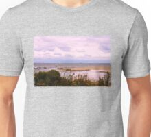 Sandbar ~ Sailboat ~ Soliloquy Unisex T-Shirt