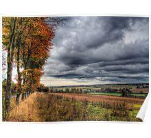 Autumn Rains Poster
